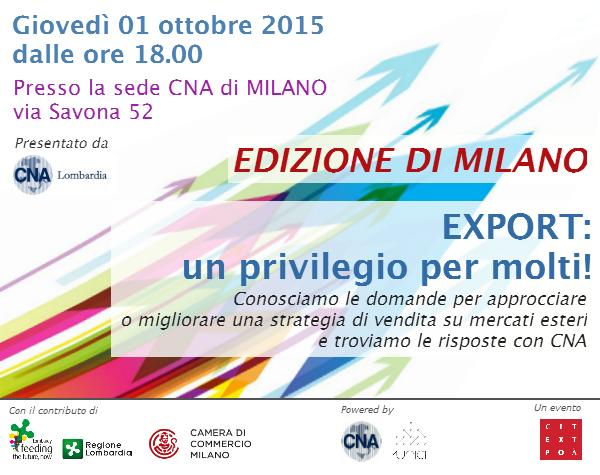 Invito Milano 01 ottobre SHINE